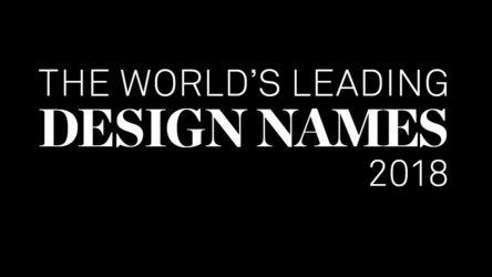 leading Design Names 2018