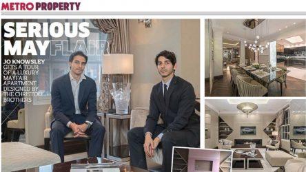 Metro Interview Alex & Michael Christou