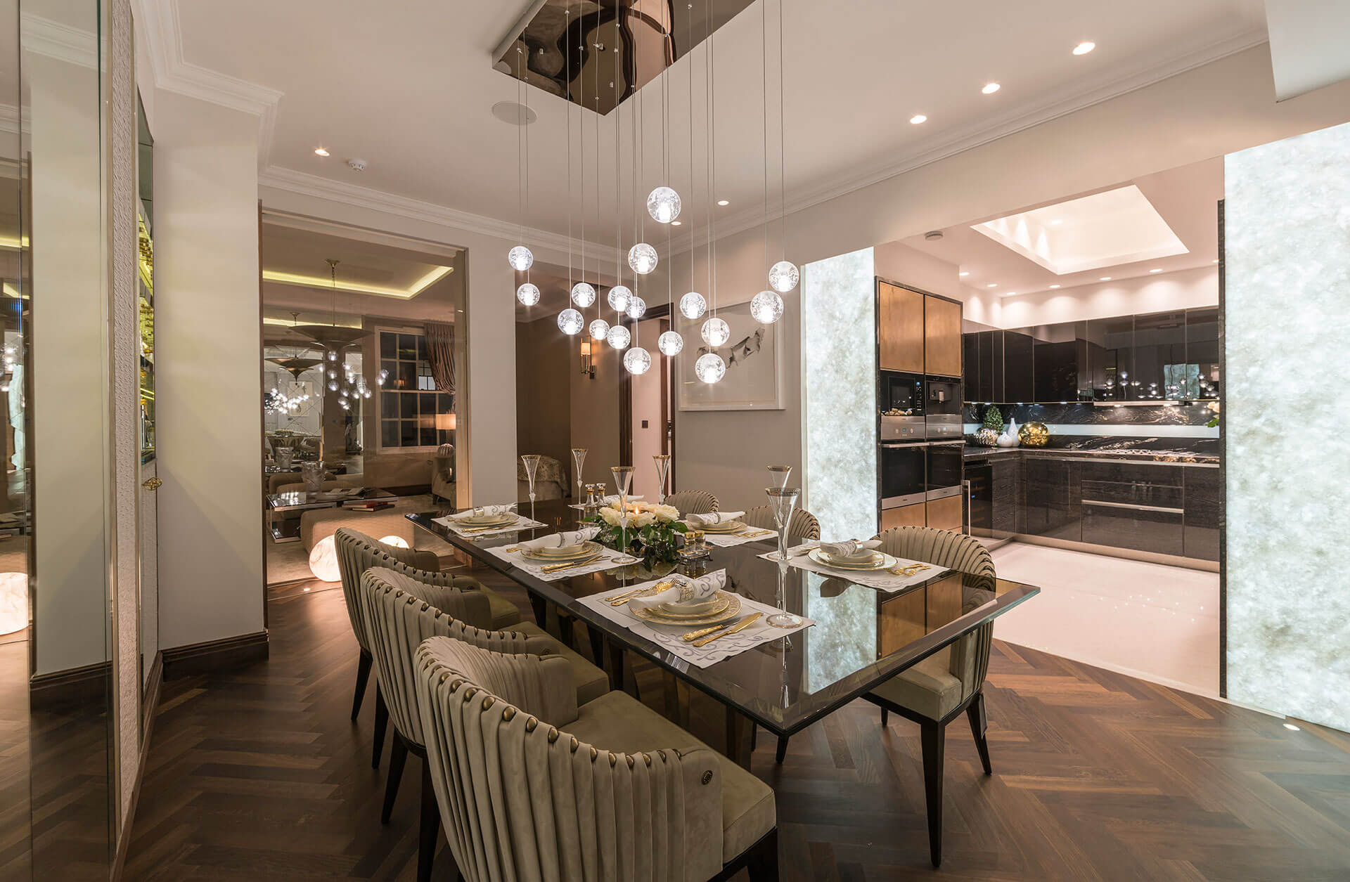 Park Lane dining room