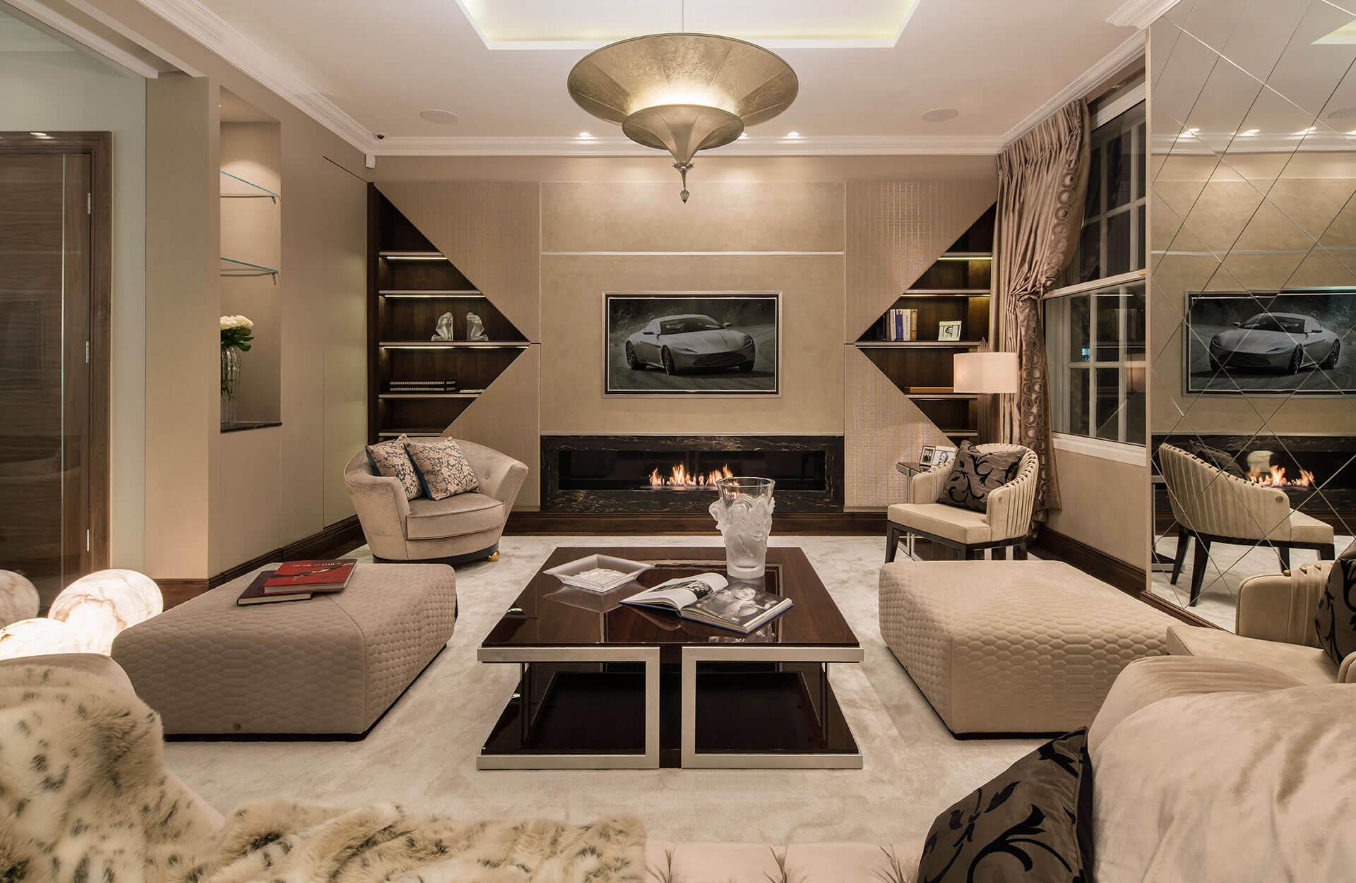 Park Lane living space