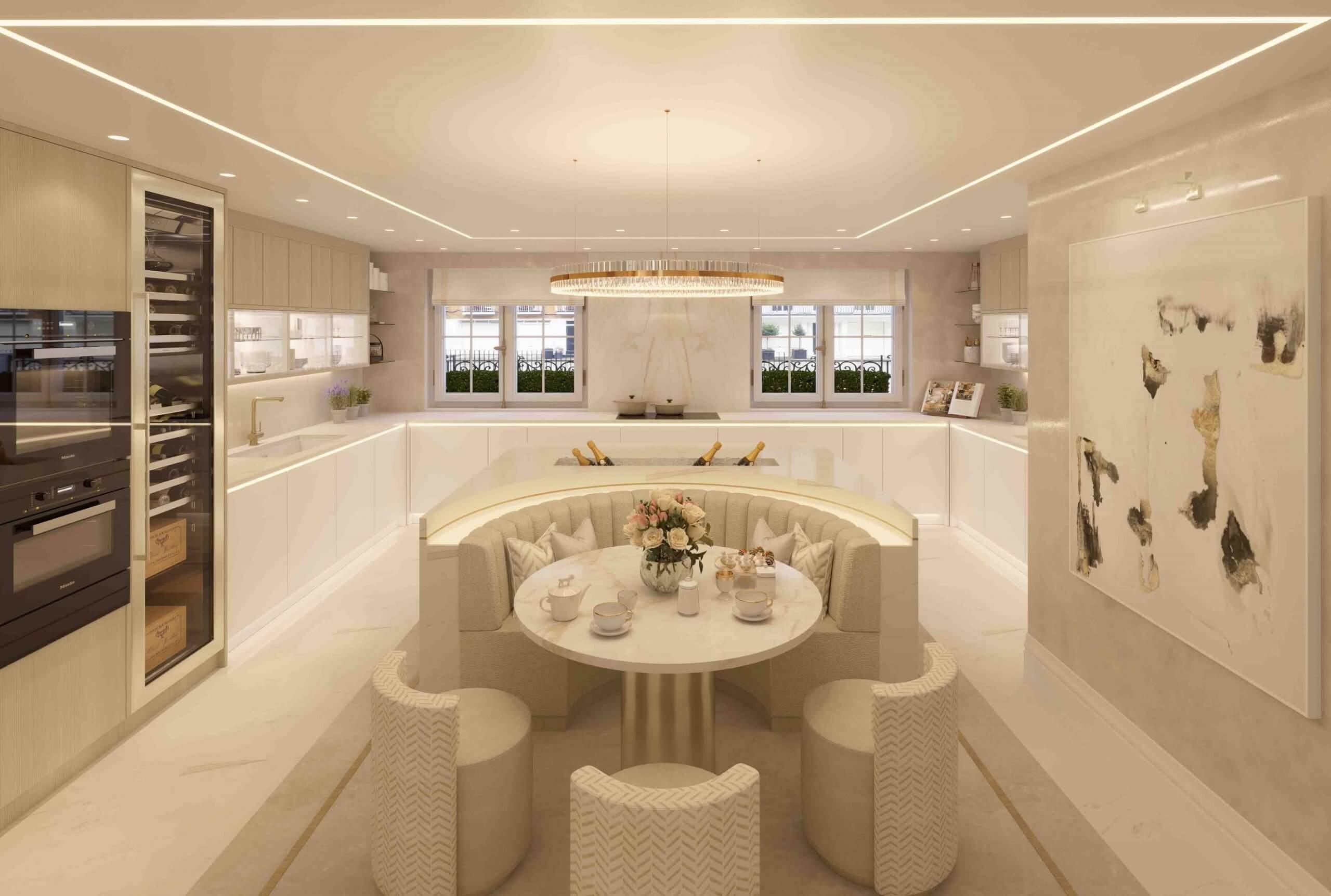 London House kitchen
