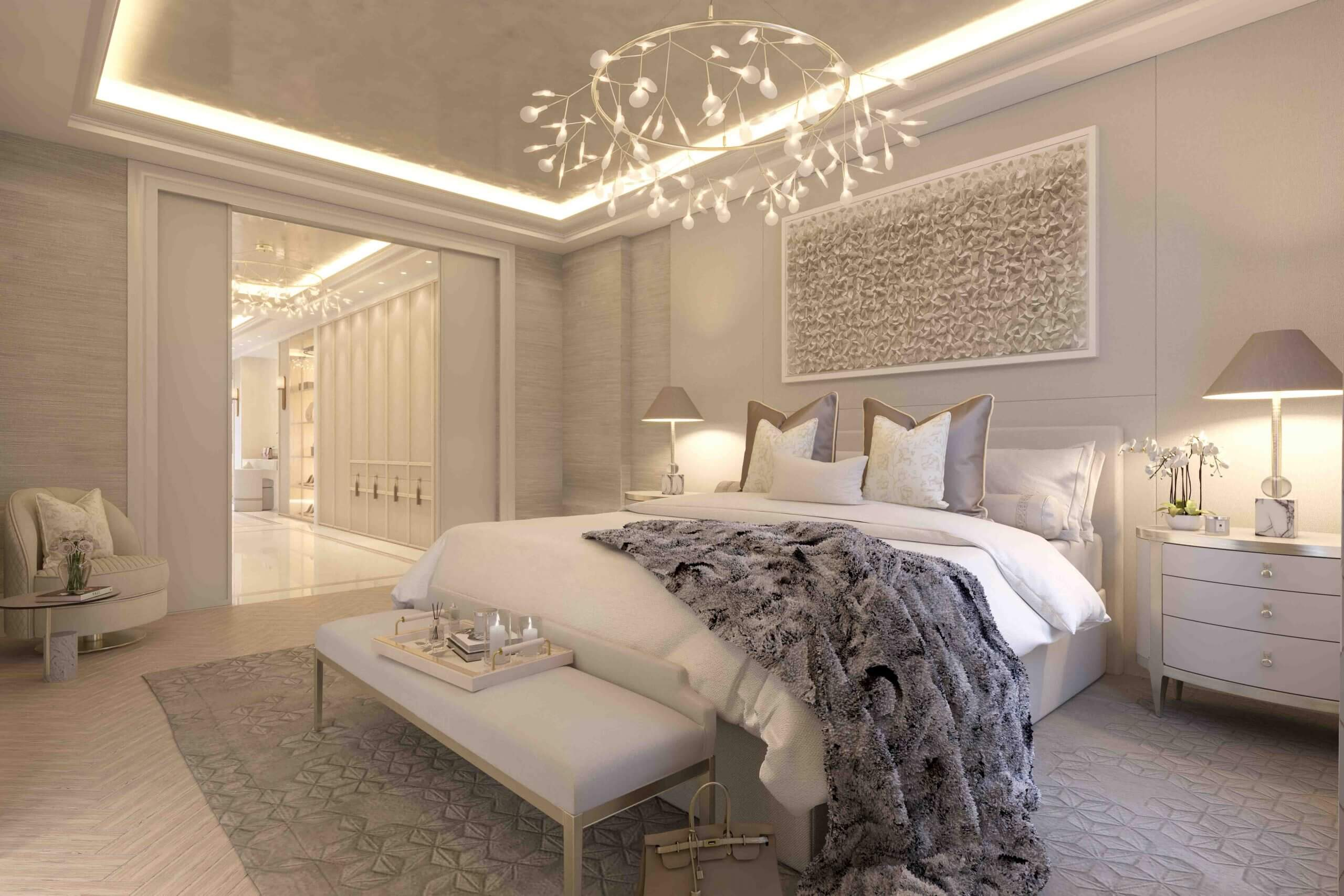 London House bedroom