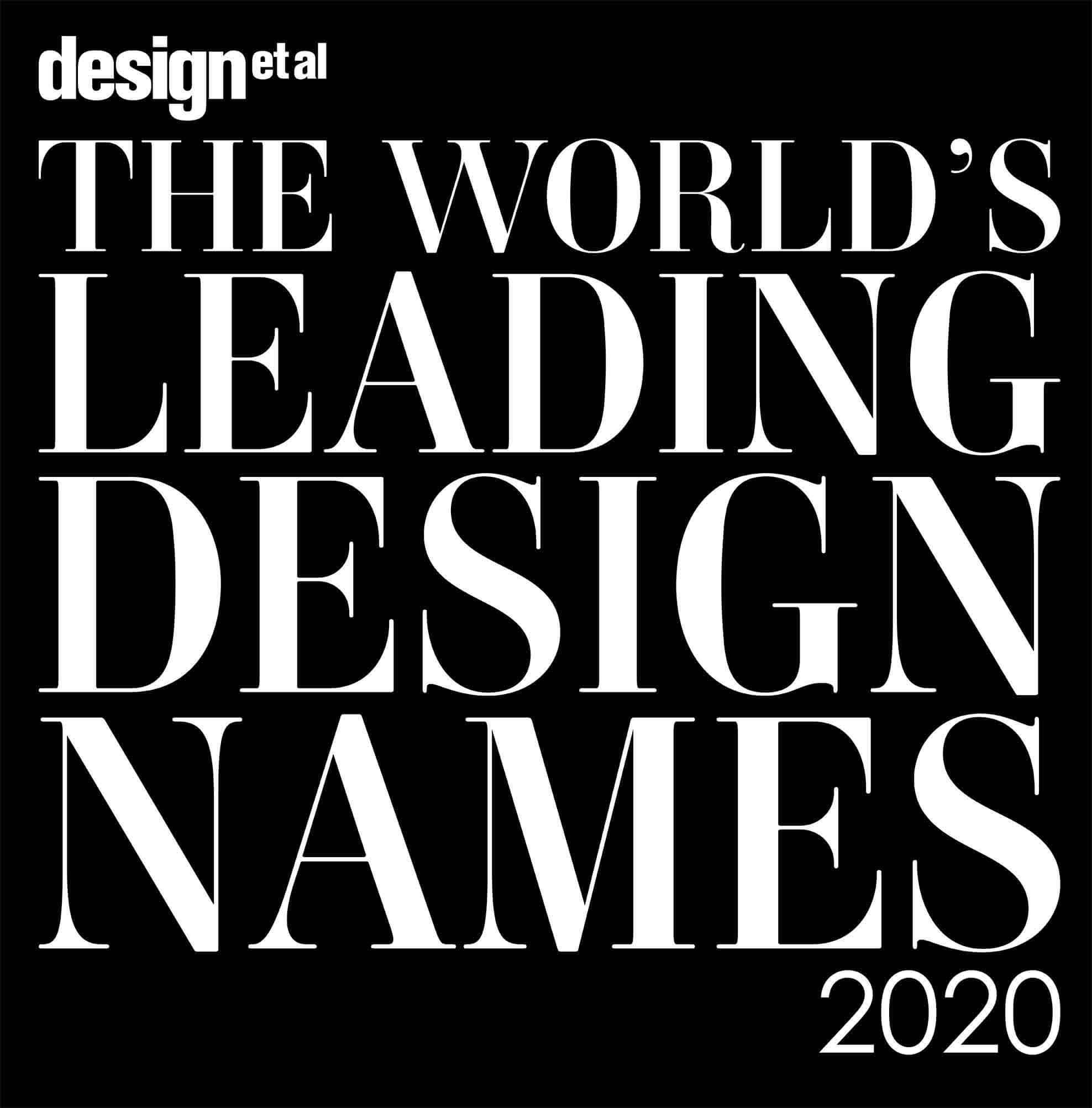 2020 Leading Design Names