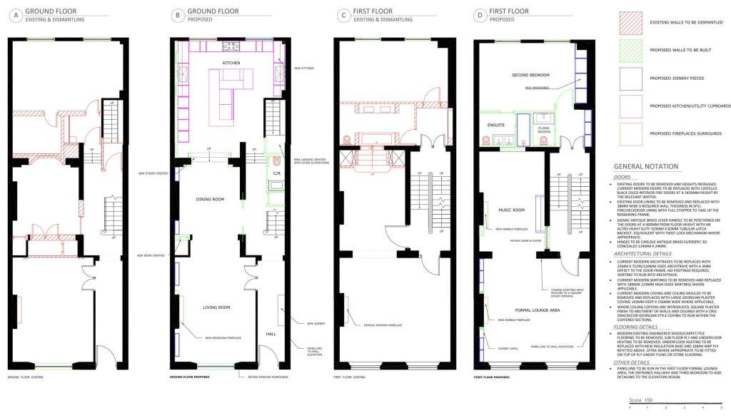 Floorplan Manipulation & Building Control Drawings