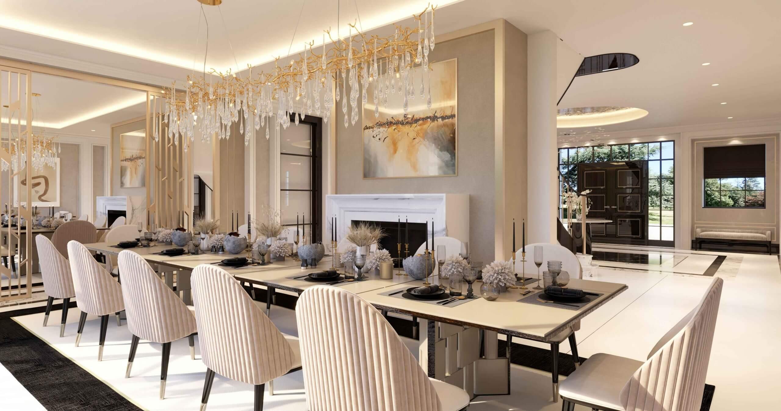 Stylised dining