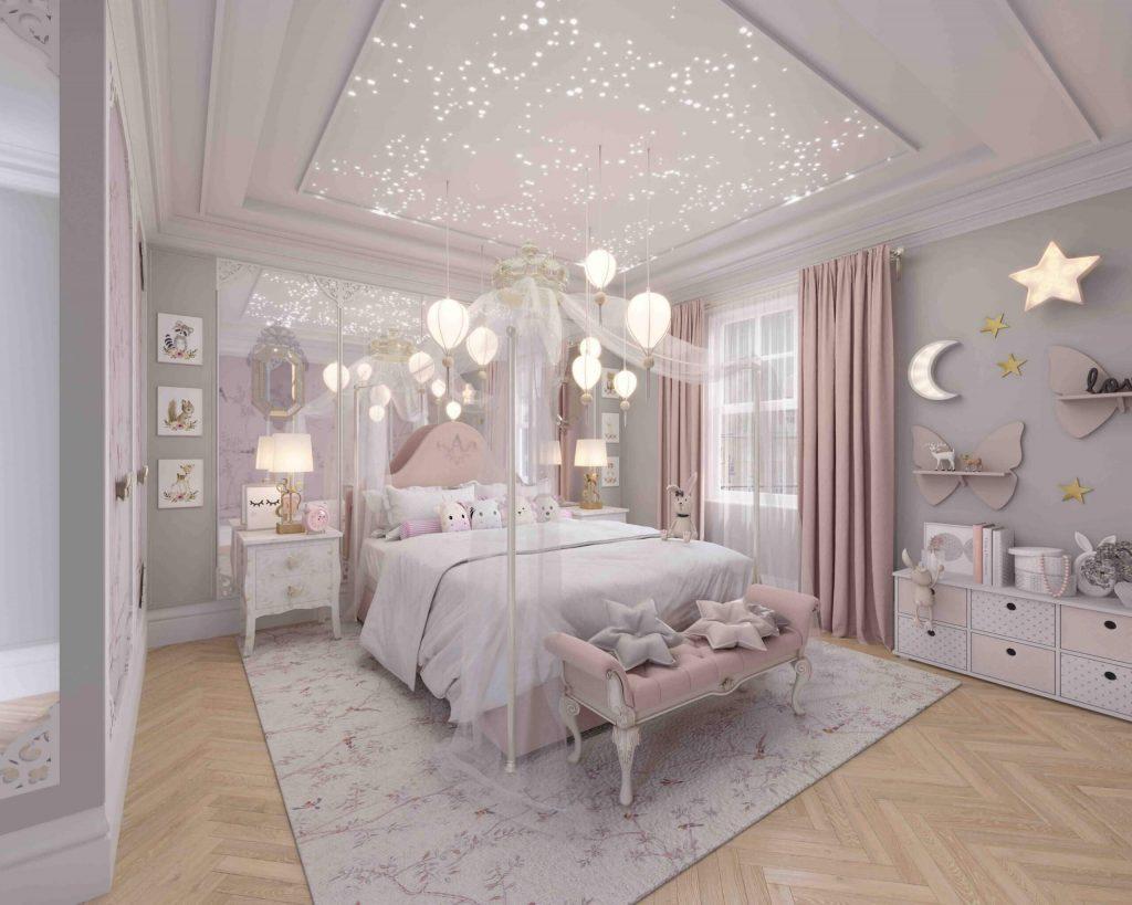 Bedroom decor pink