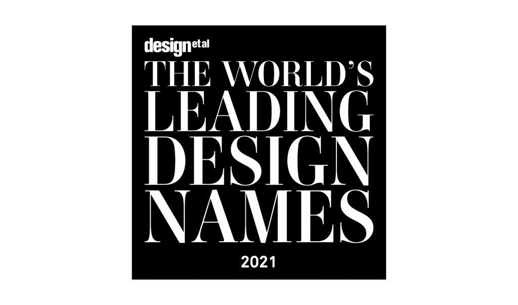 Worlds Leading Design Names 2021